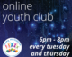 Young Melksham – Online Youth Club – Tuesday and Thursdays