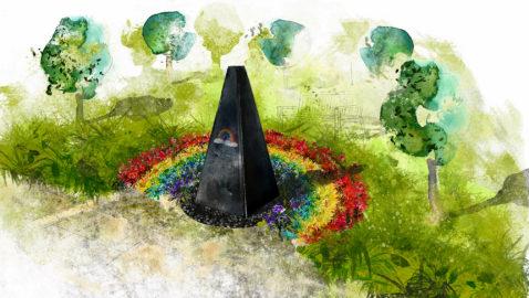COVID-19 Memorial  Garden Design Unveiled