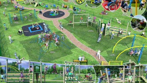 New play area will be a  wonderful attraction for the town