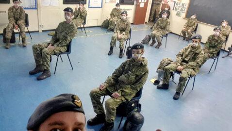 Coronavirus grant helps Melksham air cadets stay on parade at virtual meetings