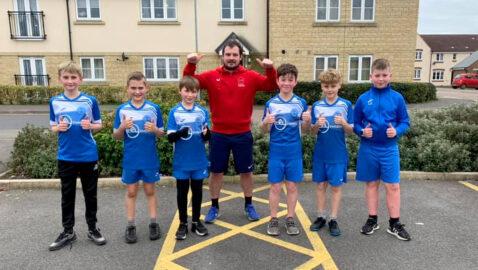 Football team mates run over 2,300 miles for their club