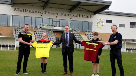 Double delight for Melksham Town – Major sponsorship deal clinched; Man Utd Legends set to return