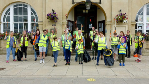 Bloomin' marvellous!  Community pulls together for Bloom competition