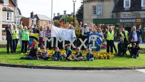 Melksham Bloomers hit Gold again!