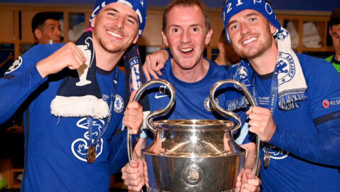 Melksham  osteopath's  Champions  League glory (and now he's hoping for  more success with England)